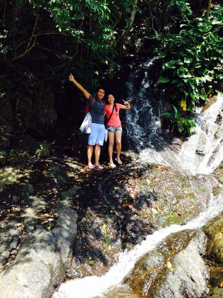 Baratubut falls