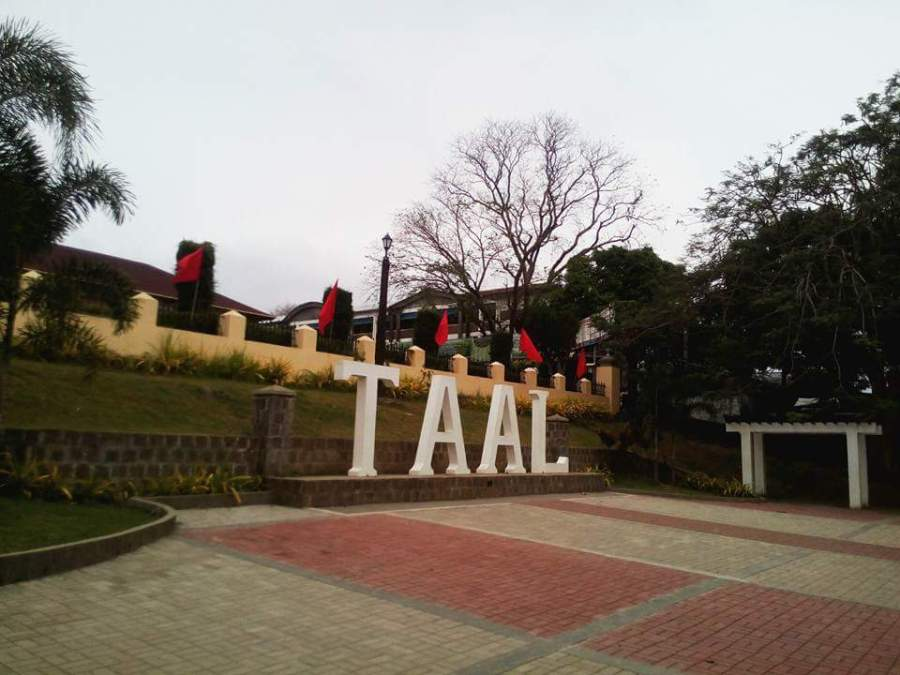 how to go to taal batangas