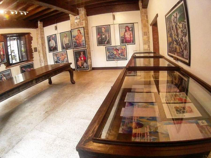 fort san pedro art gallery