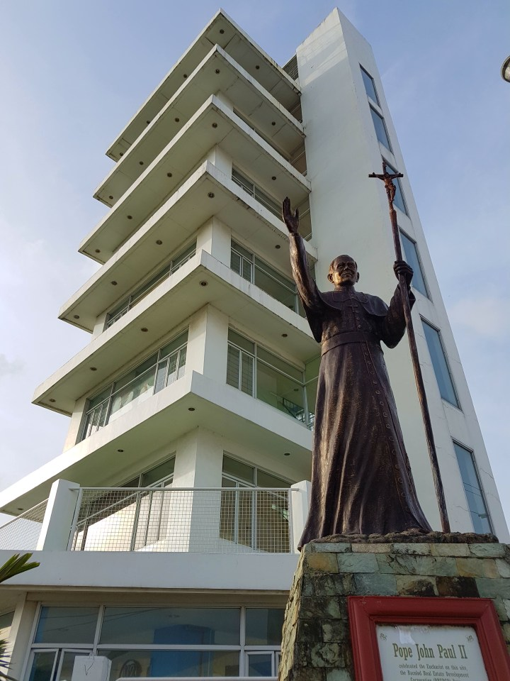 Papal Tower in the Philippines
