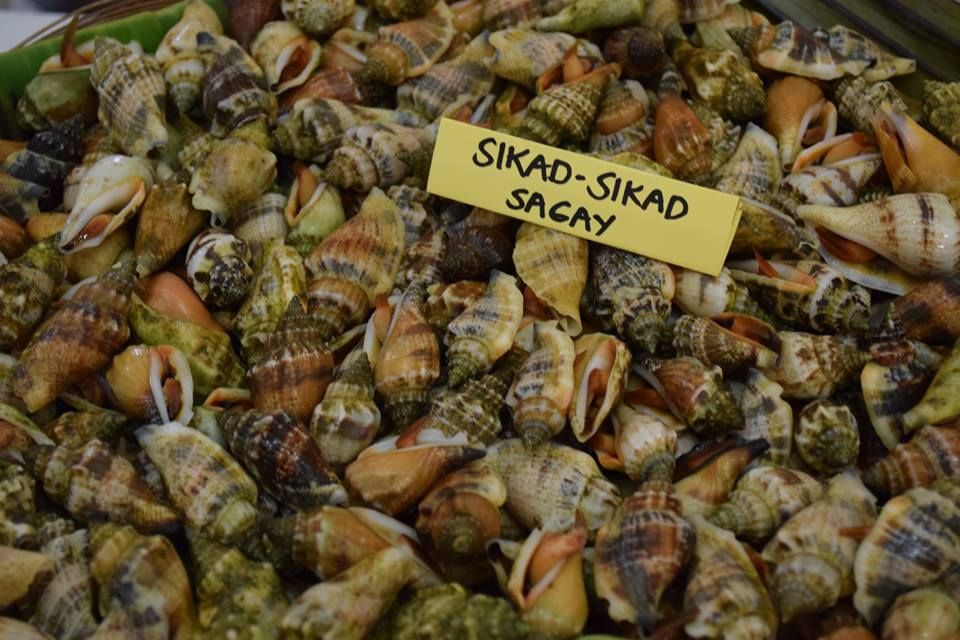 Fresh seafoods in Ph